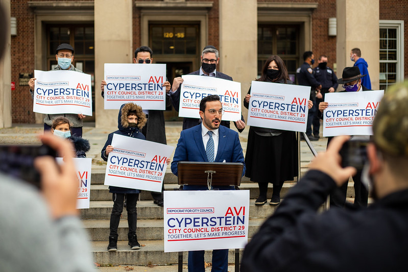 Avi Cyperstein Announces Bid for 29th NYC Council Seat